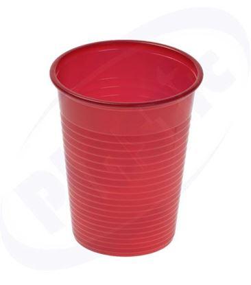 Снимка на А чаша червена 20 бр., 50 пак./каш.