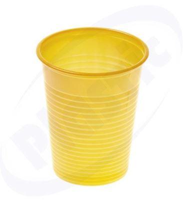 Снимка на Жълта чаша Купорони 20 бр.