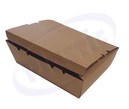 Снимка на Картонена кутия К-2100В КРАФТ 220/165/65 4х50бр/каш
