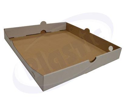 Снимка на Дъно за пица бяло 26 см, 100 бр./ст.