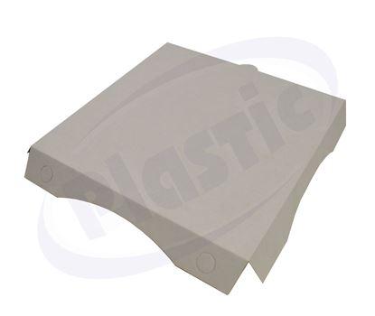 Снимка на Капак бял 26 см, за дъно за пица, 100 бр./ст.