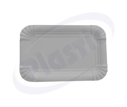 Снимка на Еко чинии картонени 110/170 20х100бр Д