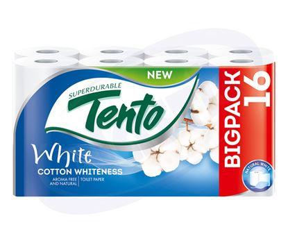 Снимка на Тоалетна хартия ТЕНТО МЕГАПАК 12+4, 2 пл., 16 бр., 3 пак/чув.