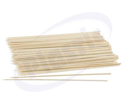 Снимка на Бамбуков шиш All4home 2.5мм/200мм, 100бр/пак, 30 пак/каш