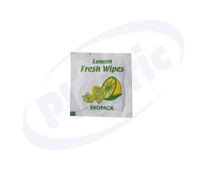 Снимка на Мокри кърпички лимон 1000бр/каш