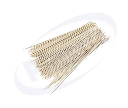 Снимка на СН бамбуков шиш 150мм/2.5мм 100бр/пак 200 пак/каш