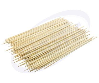 Снимка на СН бамбуков шиш 250мм/2.5мм 100бр/пак 200 пак/каш