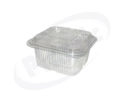 Снимка на В495/500мл кутия квадр. с капак 4х150бр