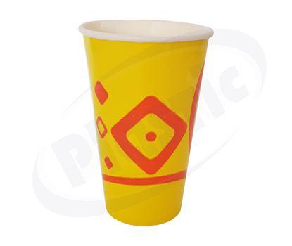 Снимка на Картонени чаши 12oz за студена напитка 40х50бр./кашон МС
