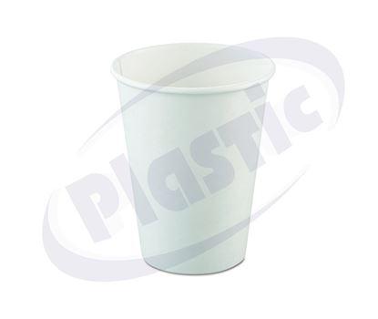 Снимка на Картонени чаши 12oz БЕЛИ за студена напитка 20х65бр./кашон