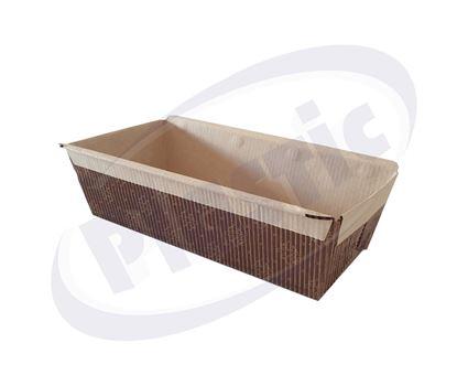 Снимка на Картонена опаковка за кейк 150/65/50H, 12х90,  1080бр/каш