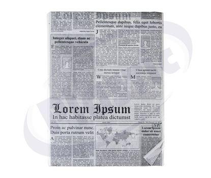 Снимка на Хартиен формат маслоуст. 25х35 НЮЗПЕЙПЪР  500бр 1.8кг/пак С 4п/к