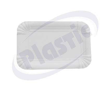 Снимка на Еко чинии картонени 110/170мм Eco4home 100х10бр